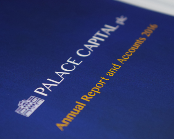 Palace Capital Annual Report